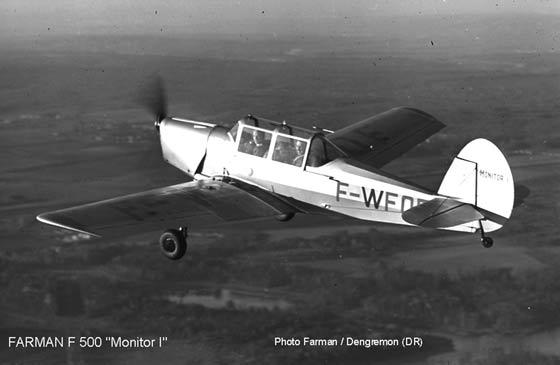 Farman F-500 'Monitor' I